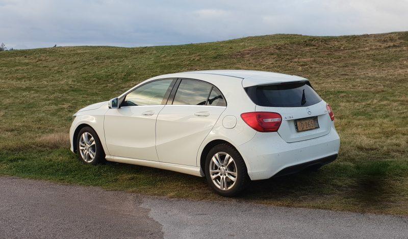 Koeajo Mercedes-Benz A 180 CDI A – 372000 km, eikä tunnu missään!